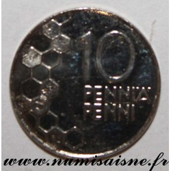 FINLAND - KM 65 - 10 PENNIA 2000