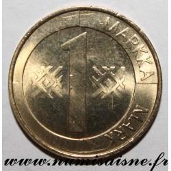 FINLAND - KM 76 - 1 MARKKA 2000 - LION