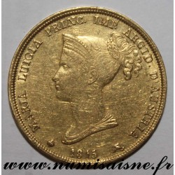 ITALY - C 32 - PARMA - MARIA LUIGIA - 40 LIRE 1815 - GOLD