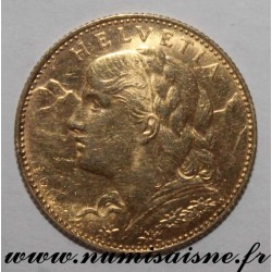 SWITZERLAND - KM 36 - 10 FRANCS 1911 - GOLD