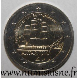 ESTONIA - 2 EURO 2020 - 200 YEARS OF THE DISCOVERY OF ANTARCTICA