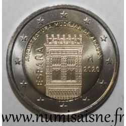 SPAIN - 2 EURO 2020 - ARAGON MUDEJARE ARCHITECTURE