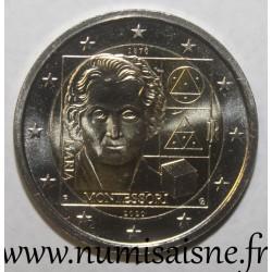 ITALY - 2 EURO 2020 - 150th anniversary of the birth of Maria Montessori