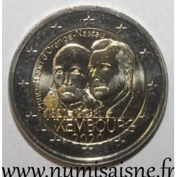 LUXEMBOURG - 2 EURO 2020 - BICENTENARY OF THE BIRTH OF PRINCE HENRI
