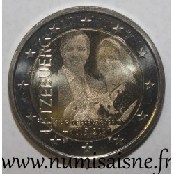LUXEMBOURG - 2 EURO 2020 - BIRTH OF PRINCE CHARLES - HOLOGRAMM
