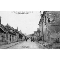 County 02300 - CAMELIN - NOYON MAIN STREET - AFTER THE WAR 1914-1918