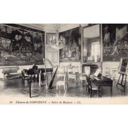 County 60200 - OISE - COMPIEGNE - THE CASTEL - MUSIC ROOM