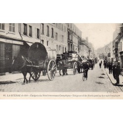 County 60200 - OISE - COMPIEGNE - 1914 WAR - NORTH EMGRES CROSSING THE CITY