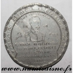 MEDAL - POLITICS - 94 - BARBES PRISONER IN THE DUNGEON OF VINCENNES