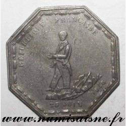 MEDAL - POLITICS - TO BIXIO - HURT ON THE BARRICADES - 1848
