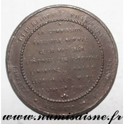MEDAL - POLITICS - THE EXECUTIVE COMMISSION APPOINTED ON MAY 10, 1848