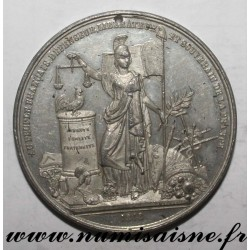MEDAL - POLITICS - THE REVERSAL OF THE MONARCHY AND THE ESTABLISHMENT OF THE FRENCH REPUBLIC - 1848