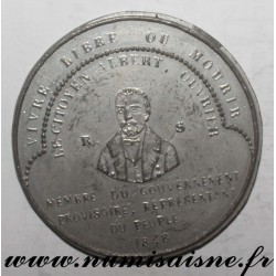 MEDAL - POLITICS - 94 - ALBERT OUVRIER - PRISONER IN VINCENNES