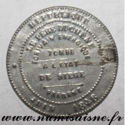 MEDAL - POLITICS - LE PÈRE DUCHÊNE - 1848