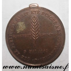 MEDAL - POLITICS - GODEFROI CAVAIGNAC - 1848