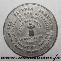 MEDAL - POLITICS - THE COUNCIL OF MACON - Miss NIBOYET