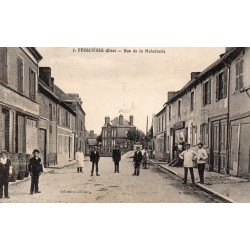 County 60960 - OISE - FEUQUIERES - STREET OF MALADRERIE
