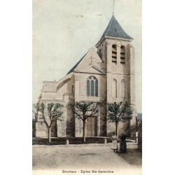 County 60270 - OISE - GOUVIEUX - SAINTE-GENEVIEVE CHURCH
