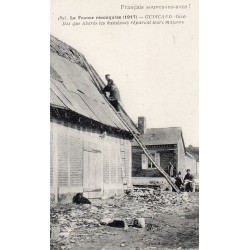 County 60640 - OISE - GUISCARD - FRANCE RECONQUERED - 1917