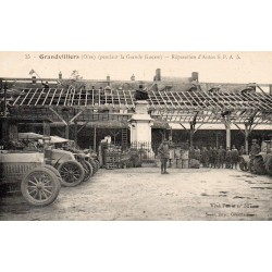 County 60210 - OISE - GRANDVILLIERS - DURING THE GREAT WAR - CAR REPAIR
