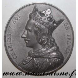 MEDAL - CHARLES V - 1337 - 1364 - 52nd KING - SON OF JEAN LE BON