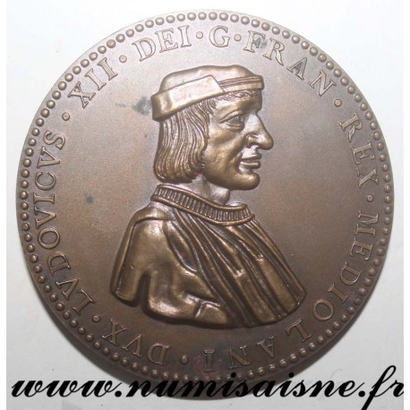 MEDAL - LOUIS XII - 1462 - 1515 - HEDGEHOG