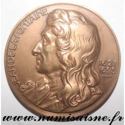 MEDAL - 1967 - JEAN DE LA FONTAINE - 1621 - 1695