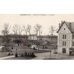 County 60140 - OISE - LIANCOURT - SANATORIUM D'ANGICOURT - THE GARDEN