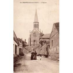 County 60650 - OISE - LACHAPELLE-AUX-POTS - THE CHURCH
