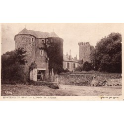 County 60810 - OISE - MONTEPILLOY - THE CASTLE'S ENTREE