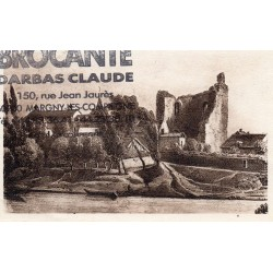 County 60200 - OISE - THE OLD COMPIEGNE - SO-CALLED TOUR OF CESAR OR LA PUCELLE - BROCANTE DARBAS CLAUDE