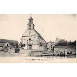 County 60240 - OISE - MONTAGNY-EN-VEXIN - CHURCH