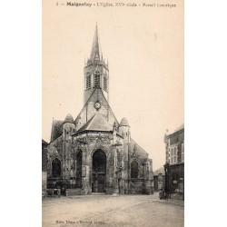 County 60420 - OISE - MAIGNELAY - THE 16TH CENTURY CHURCH - HISTORIC PORTAL