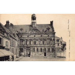 County 60400 - OISE - NOYON - CATHEDRAL - CITY HALL