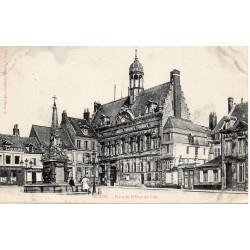 County 60400 - OISE - NOYON - CITY HALL SQUARE