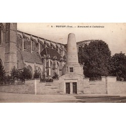 County 60400 - OISE - NOYON - MONUMENT AND CATHEDRAL