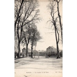 County 60400 - OISE - NOYON - THE COURSE AND THE STATION