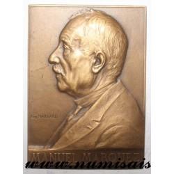 MEDAL - POLITICS - 75 - PARIS - MANUEL MARQUEZ - 1896 - 1921
