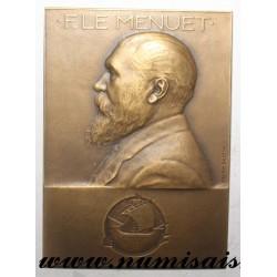 MEDAL - POLITICS - 75 - PARIS - F. LE MENUET - 1900 - 1925
