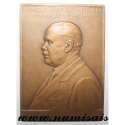 MEDAL - POLITICS - 75 - PARIS - FRANCOIS FROMENT MEURICE - 1890 - 1915