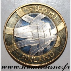 FINLAND - KM 159 - 5 EURO 2011 - PROVINCE OF CARELIE - THE WORK OF THE BIRCH ECORCE