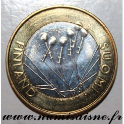 FINLAND - KM 156 - 5 EURO 2010 - SATAKUNTA PROVINCE - LACE