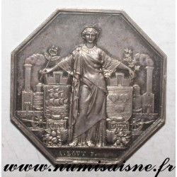 MEDAL - RAILWAY FROM PARIS TO ORLEANS - 1838