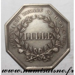 FRANCE - County 59 - LILLE - SAVINGS BANK AND FORESIGHT 'CAISSE D'EPARGNE' - 1854