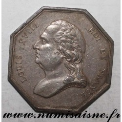 FRANCE - MEDAL - County 75 - PARIS - AUCTIONEERS - LOUIS XVIII