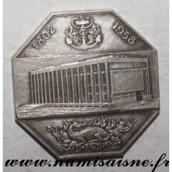 MEDAILLE - 76 - LE HAVRE - CHAMBER OF COMMERCE - 1802 - 1958