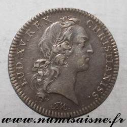 MEDAILLE - 59 - LILLE - CHAMBER OF COMMERCE - LOUIS XV