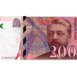 FRANCE - 200 FRANCS EIFFEL - 1999 - PICK 159