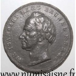 UNITED KINGDOM - MEDAL - LONDON - Sir ISAMBART MARC BRUNEL - 1834 - 1842 - THAMES TUNNEL