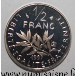 FRANCE - KM 931.1 - 1/2 FRANC 1997 - TYPE SOWER
